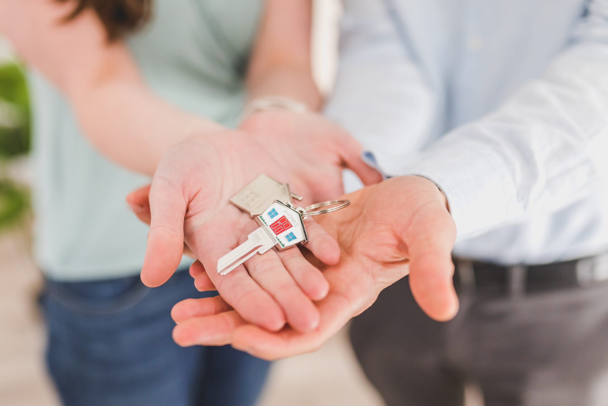 home owners buying a home